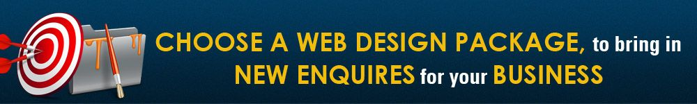 choose a web design package to bring in new enquiries for your business